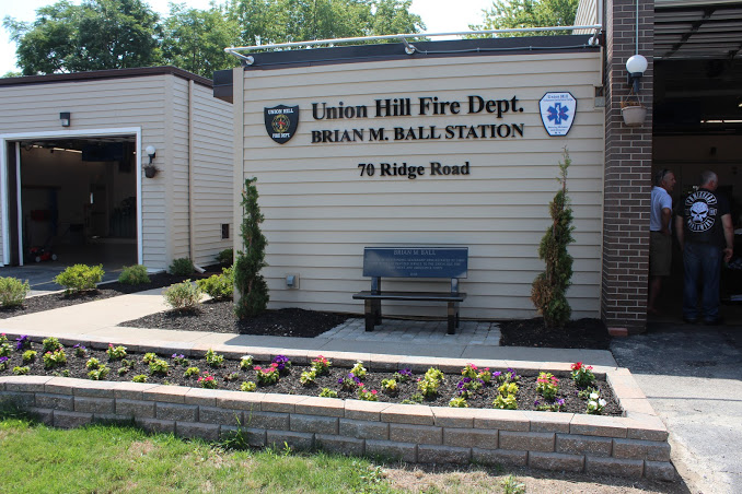 Union Hill Dedicates Station To Past Chief Ball