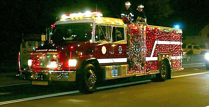UHFD attends annual Parade of Lights