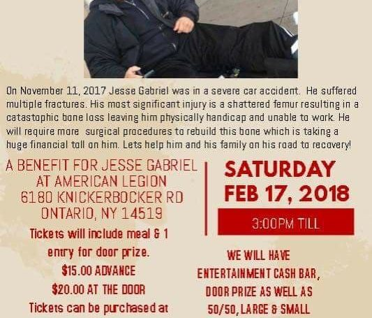 Benefit for local man involved in MVA