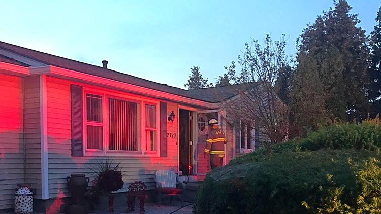 Union Hill Responds to Oven Fire